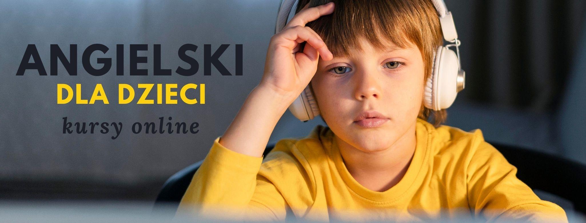 angielski dla dzieci Kraków